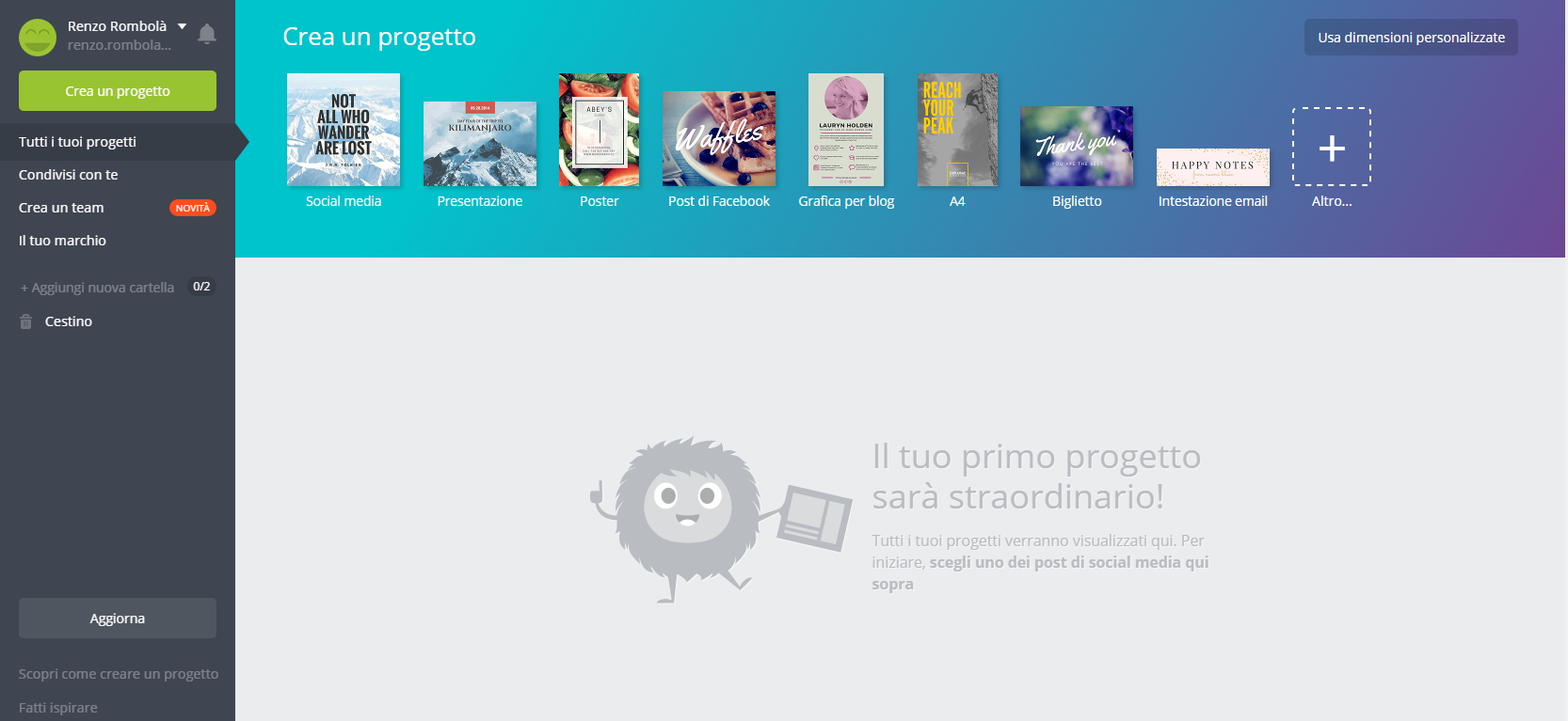 Immagine backend canva