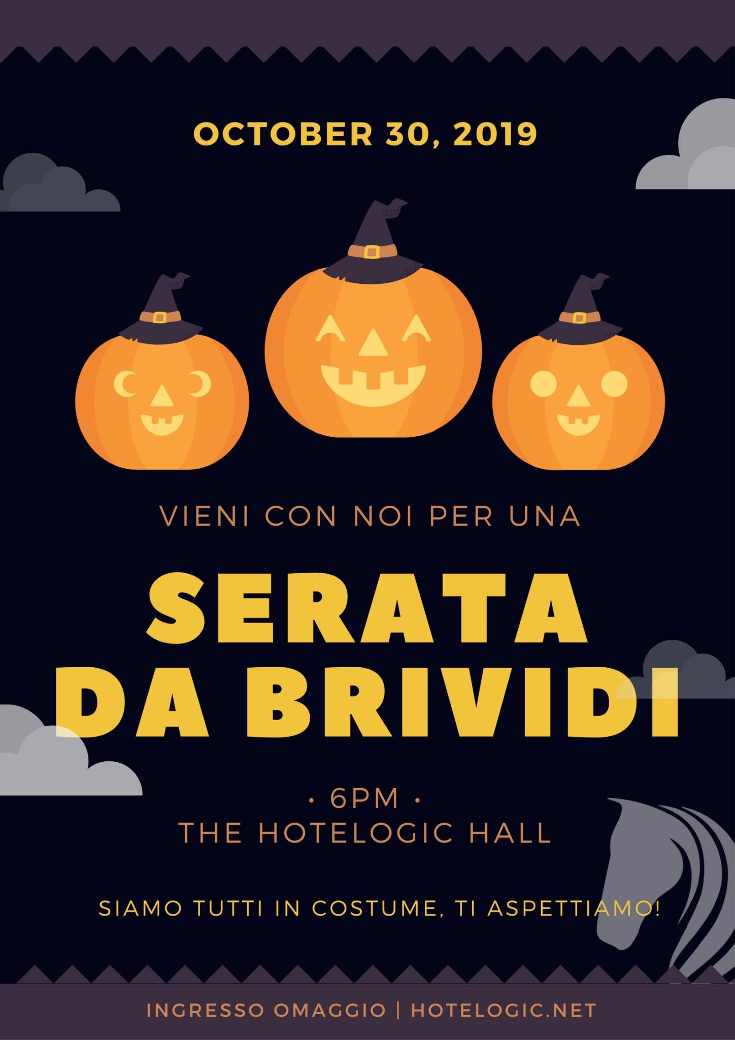 Hotelogic - Poster di esempio per Halloween