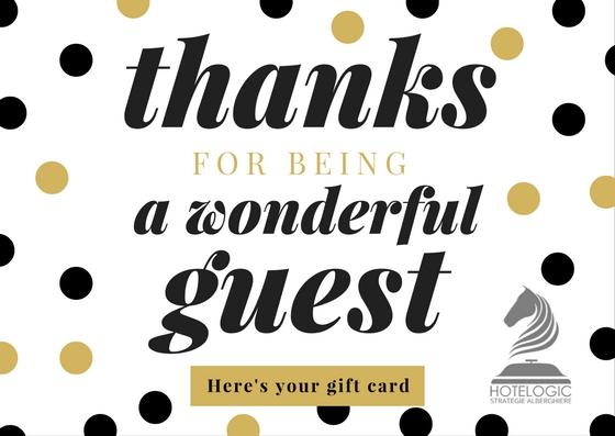 Hotelogic - Esempio gift card